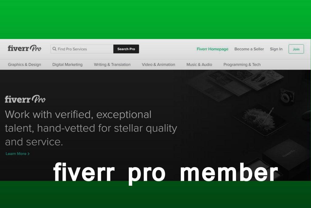 fiverr pro member