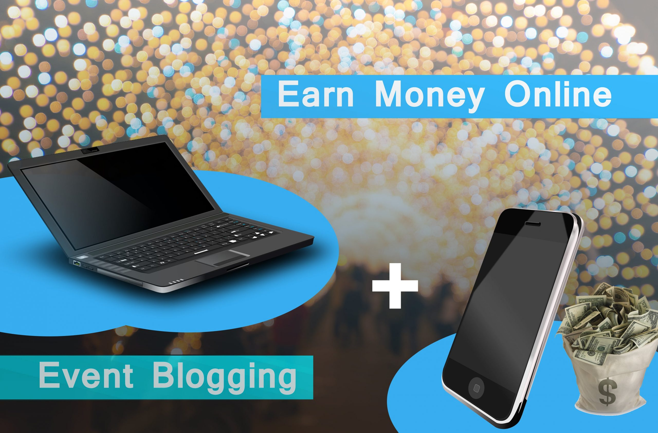 earn money online by event blogging