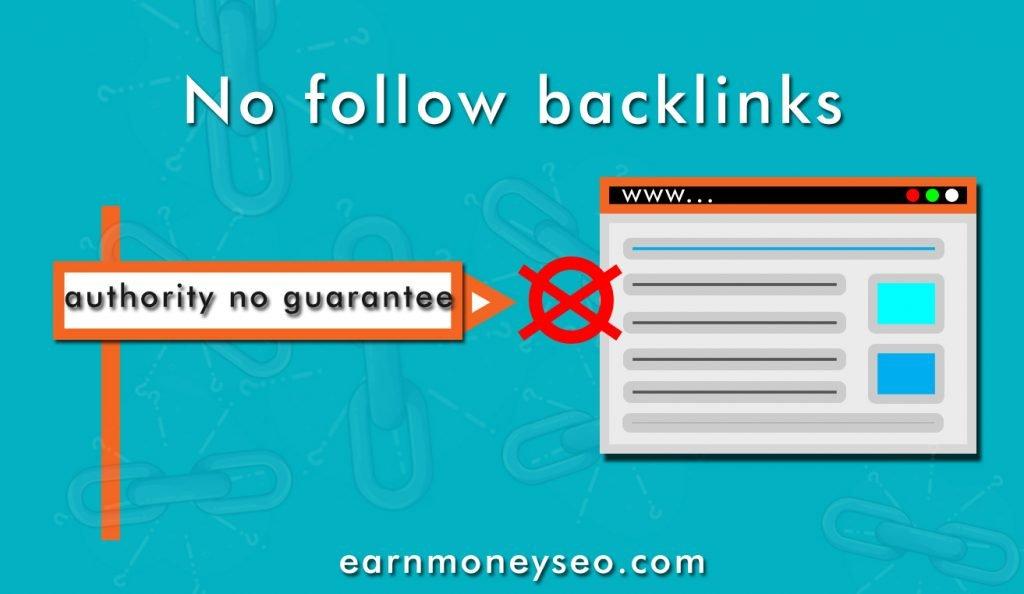 No follow backlinks